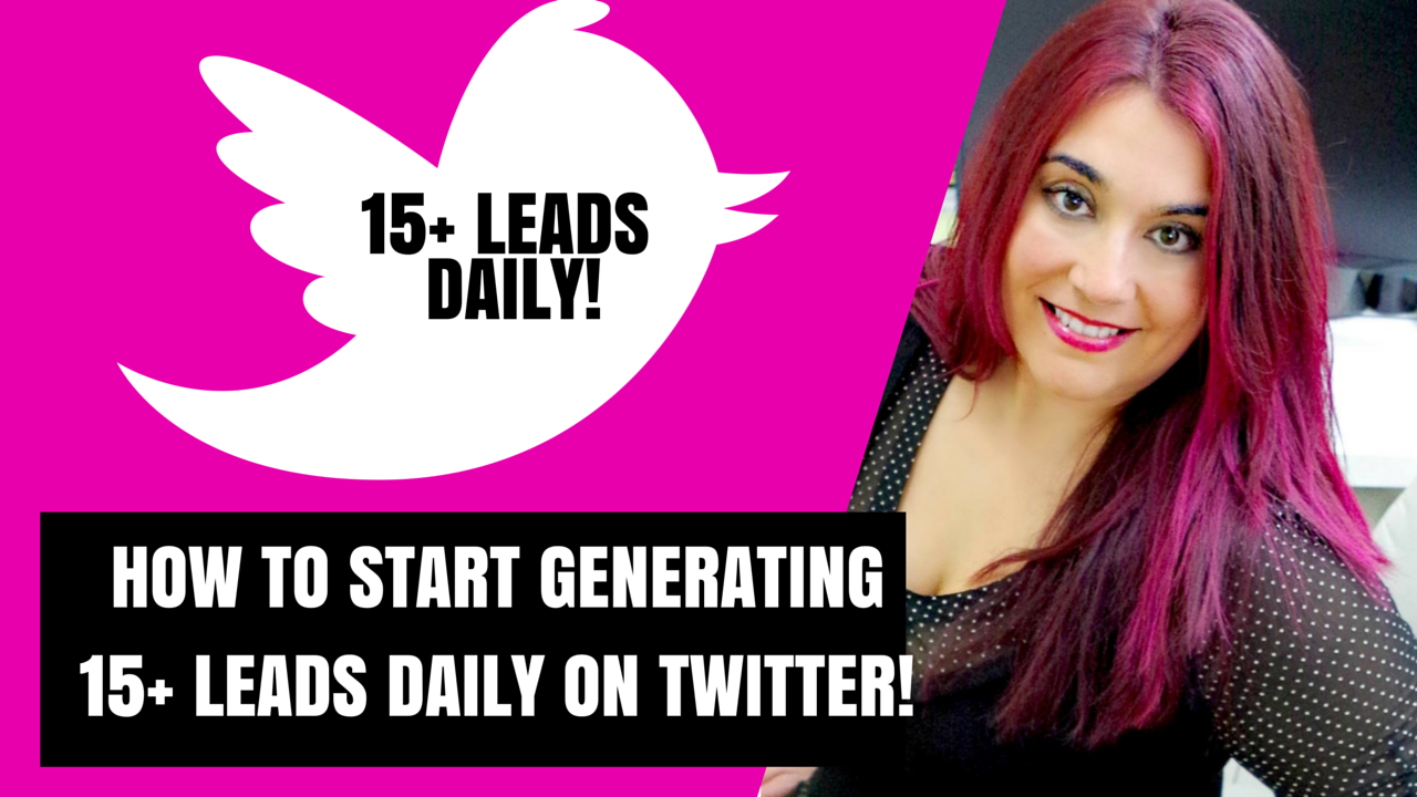 How to Start Generating 15+ Leads Daily on Twitter!